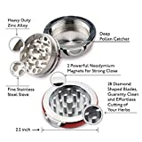 Pokeball Herbal Grinder- Pokeball Herb and Spice Tool with Bonus Scraper-Perfect Gift, Anime Gift-3 Part Grinder, 2.2...
