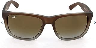 RB4165 Justin Rectangular Sunglasses