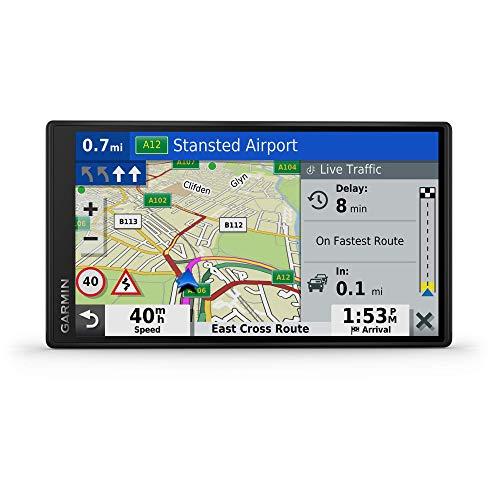 Garmin Drivesmart 65 Full EU MT-D Numero Cuatro,4, Acero Inoxidable 316, Adhesivo In GPS para Coche, Negro (Reacondicionado)