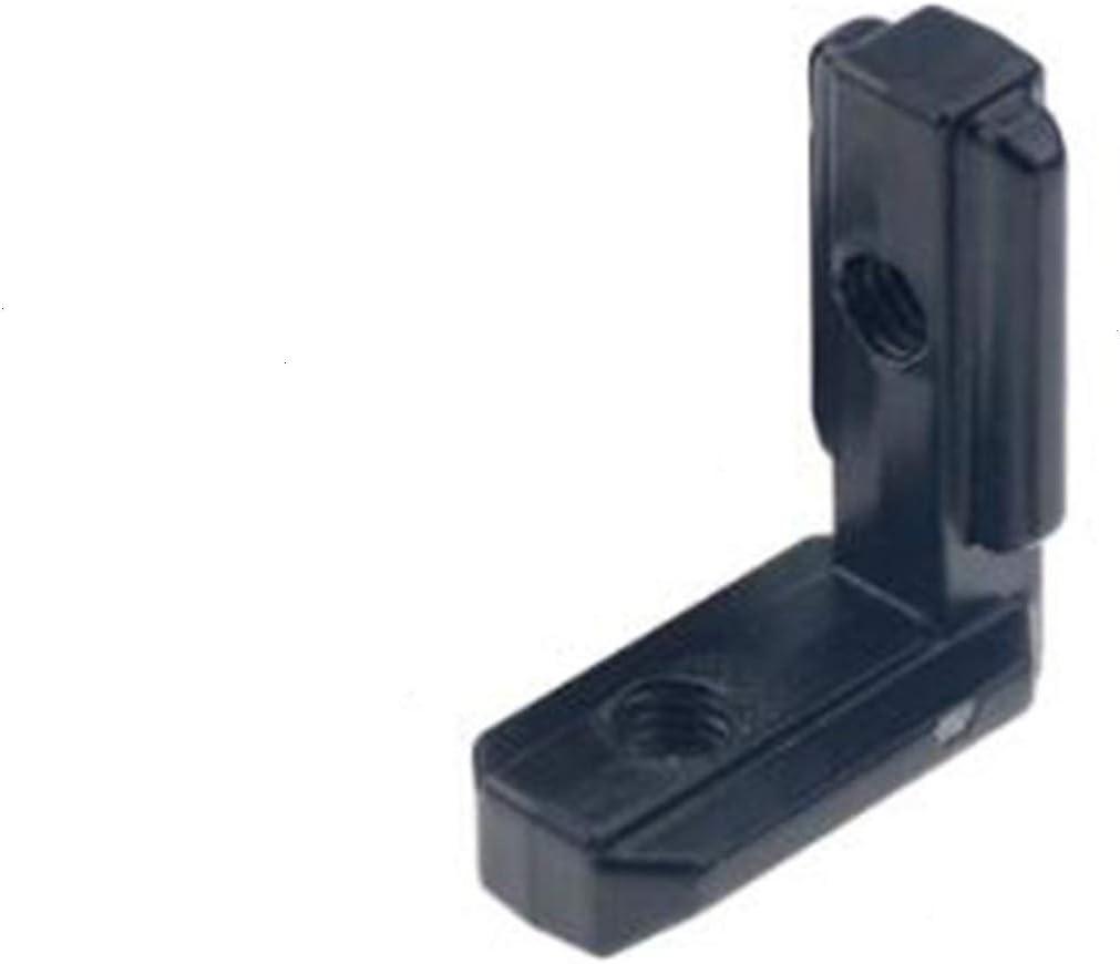 qfkj Bracket Manufacturer OFFicial shop 1PC 2020 3030 4040 Co Interior L Shape Financial sales sale Corner Black