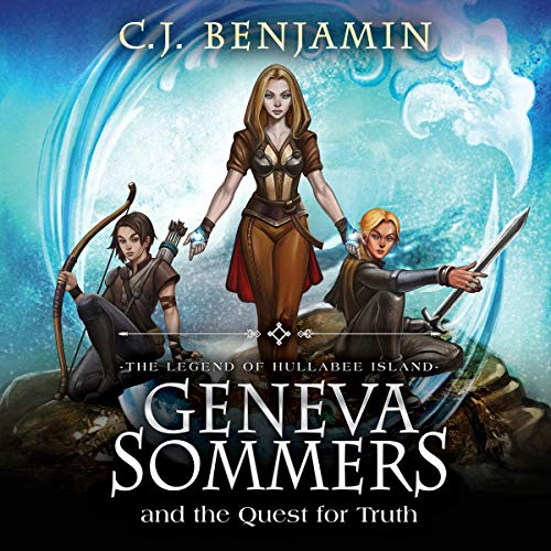 Geneva Sommers and the Quest for Truth audiobook cover art