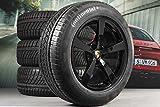 Porsche Macan 95B.2 - Set di ruote invernali da 18', colore: Nero