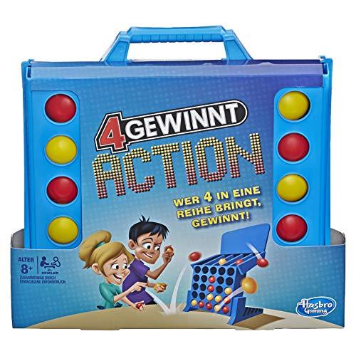 4 gewinnt Action, temporeiches Kinderspiel