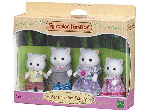 SYLVANIAN FAMILIES- Famiglia Gatti Persiani Mini Bambole, Multicolore, 5216