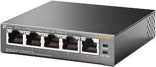 TP-LINK TL-SF1005P 5-Port 10/100 Mbps Desktop Switch with 4-Port PoE