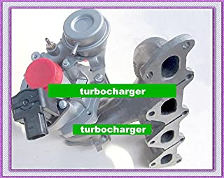 GOWE TURBO for TURBO K03 53039700150 53039700099 53039700142 Turbocharger For VW GOLF Polo Tiguan Touran BLG BMY 1.4L TSI + electrical actuator