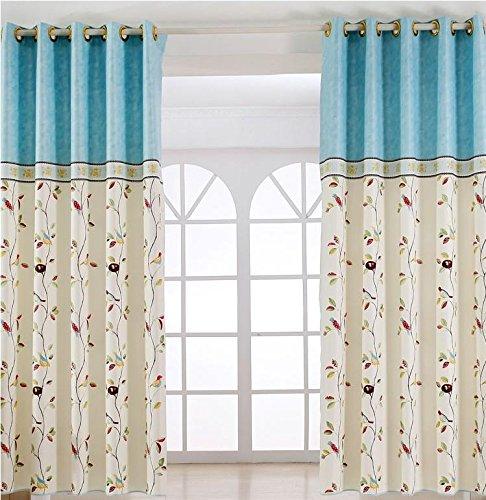 Rideau court Demi Abat-jour Rideaux pour la chambre à coucher Fancy enfant moderne Rideaux pour le salon enfants Rideau 2 couleurs/, 1, 1pc(250x200 cm?