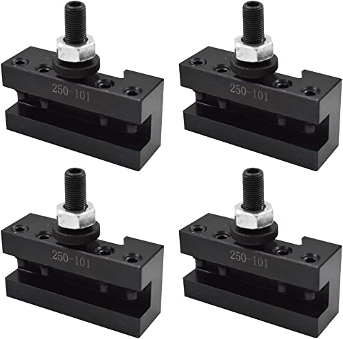 """lowest New AXA 4Pcs #1 Quick sale Change 250-101 Tool Post Turning Facing Holder 6-12"""" for discount Use with AXA Tool Post 250-100 250-111 outlet online sale"""