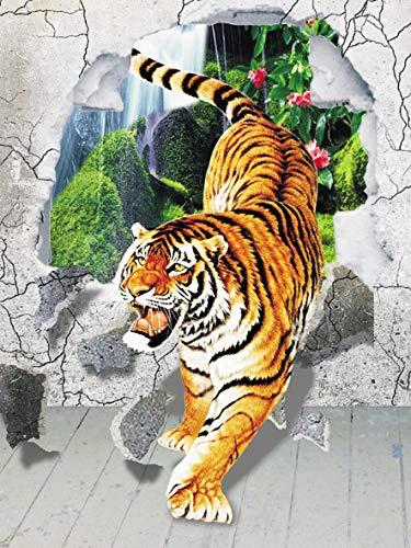 Tiger puzzle 1000 piezas niños adultos ocio entretenimiento juguete diy puzzle