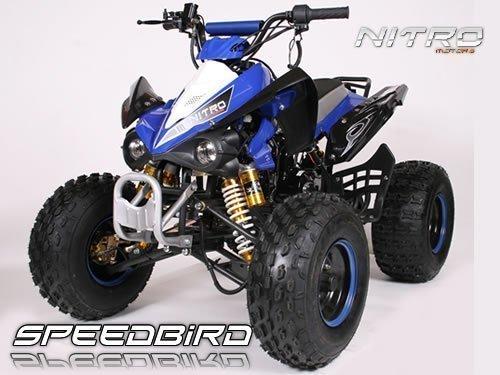 Speedbird 125cc CXG 125 Midi Quad 8