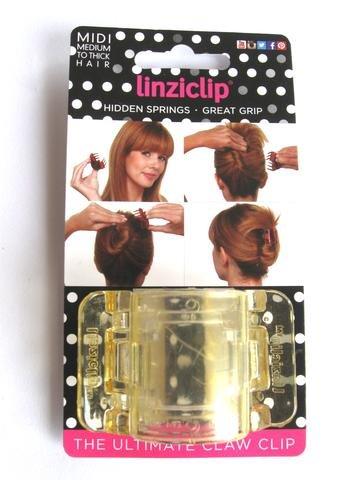 Linziclip Midi The Ultimate Claw Clip Translucent Yellow