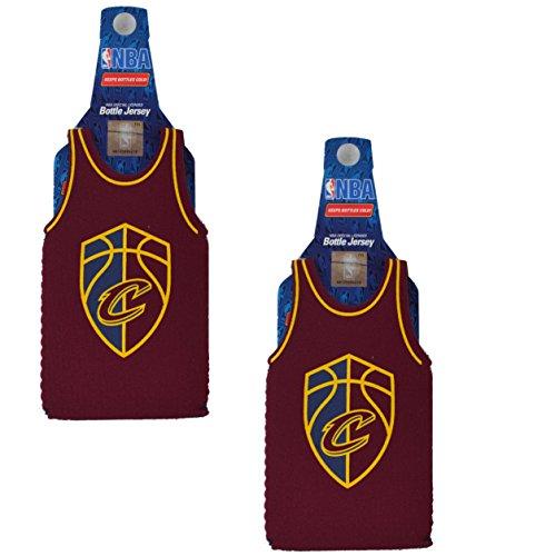 Offizielles National Basketball Association Fan Shop Authentic NBA Isoliert Flasche Team Jersey Kühler, Cleveland Cavaliers v2