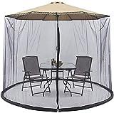 XBR 2021 New Parasol Gazebo Umbrella Tu Parasol en un Gazebo Plegable Garden Mosquito Umbrella Cover Netting Parasol para Interior y Exterior, g (tamaño: 11 pies)