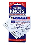 Saltwater Fishing Knots - Waterproof Plastic Knot Cards