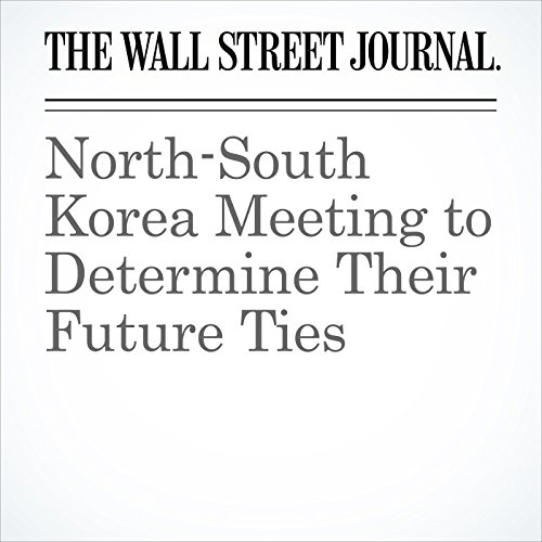 North-South Korea Meeting to Determine Their Future Ties copertina