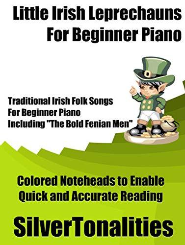 Little Irish Leprechauns for Beginner Piano
