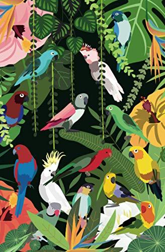 Notizbuch Papageien (Notizbuch exotische Papageien & Kakadus, Band 1)