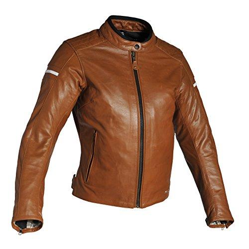 Richa Daytona Damen Lederjacke Cognac 38 - Motorradjacke