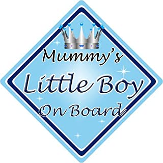 Personalised Child//Baby On Board Car Sign ~ Nana /& Grandads Prince ~ D.Blue