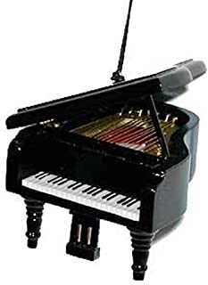 "Musical Instrument Christmas Ornament (3.5"" Black Grand Piano)"