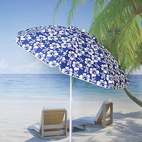 ZXYY Beach umbrella | 2 * 2m | Tiltable sunshade/waterproof/sunscreen for balcony/garden/terrace/market/coffee table - without base