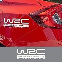 JIERS シボレークルーズラセッティトラックスダシアダスターローガンサンデロ用、アウディA3 A4 A5 Q7用、アクセサリー車体装飾WRCステッカー車のステッカー