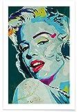 Juniqe® Pop Art Marilyn Monroe Poster 20x30cm - Design