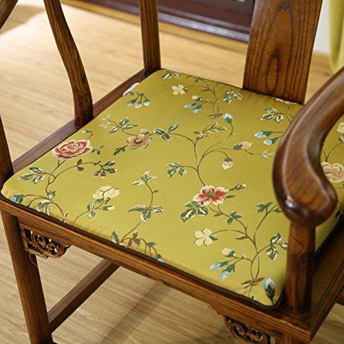 xinping Chair Pads Chaise Pad/Chaise en Bois Massif Cushion-c 45 x 38 cm (45,7 x 38,1 cm)
