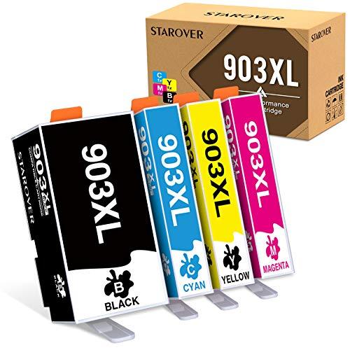 903XL Multipack-Druckerpatronen Kompatibel mit HP 903XL 903 Tintenpatronen für HP Officejet Pro 6950 6960 6970 All-in-One-Drucker