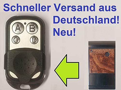 Handsender kompatibel mit Tedsen SKX1DL, SKX2DL, SKX3DL, SKX4DL, SKX1HD, SKX2HD, SKX3HD, SKX4HD, SKX1, SKX2, SKX3, SKX4 433,92 MHz - Fernbedienung