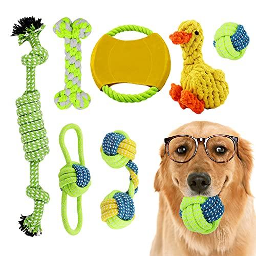 Hyselene Hundespielzeug Set,7 Stück Hundespielzeug...