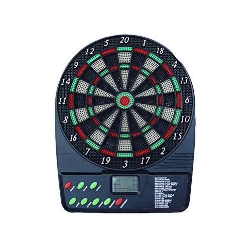 Yajun Elektronische Dartscheibe Dart Board Scheibe Automatische Anzeigetafel mit HD-LCD-Display und 3 Kunststoffspitzen Darts Indoor Outdoor Safe Game für Kinder Kinder