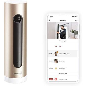 Smart Indoor Security Camera - Netatmo Welcome, Gold