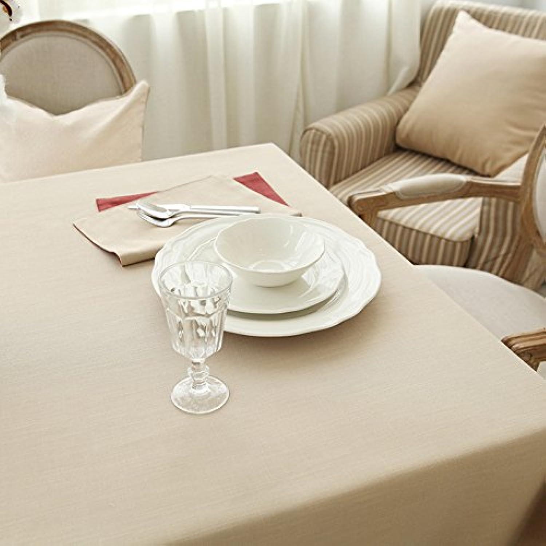 WFLJL einfachen Stil TableclothCoffee tisch Esstisch Baumwolle Rechteck Abdeckung Tuch 145  220 cm