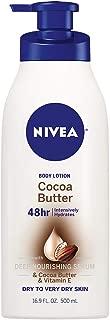 Nivea Beiersdorf Cocoa Butter Body Lotion, 16.9 oz