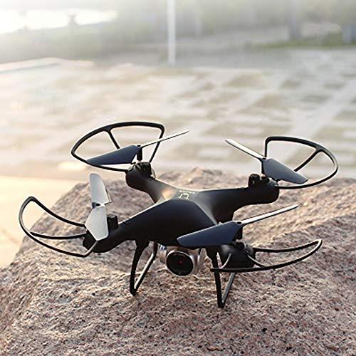 Jiujiuwanli 4-Axis Drohne mit PTZ-Kamera, WLAN Live Übertragung, Automatische Rückkehr, Headless Mode, RC Quadrocopter, Ferngesteuert Helicopter für Anfänger (schwarz)