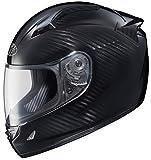 Joe Rocket Speedmaster Motorcycle Helmet (Carbon Fiber Weave/Black Titanium, Large)