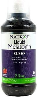 Natrol Melatonin Liquid, 2.5mg, 8oz; with Cup