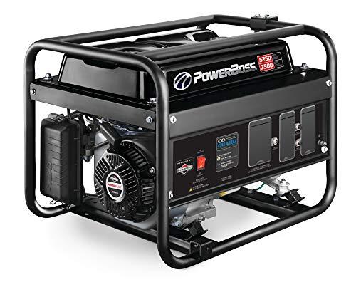 PowerBoss 3500W Portable Generator, Powered by Briggs & Stratton, 030755