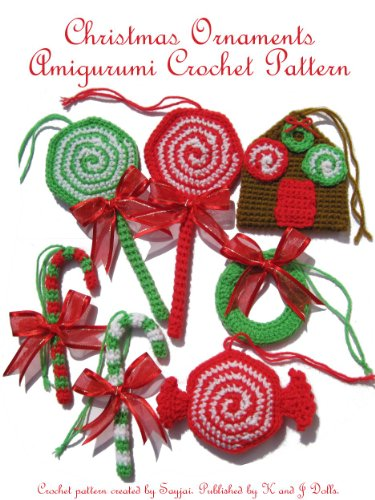 Christmas Ornaments Amigurumi Crochet Patterm