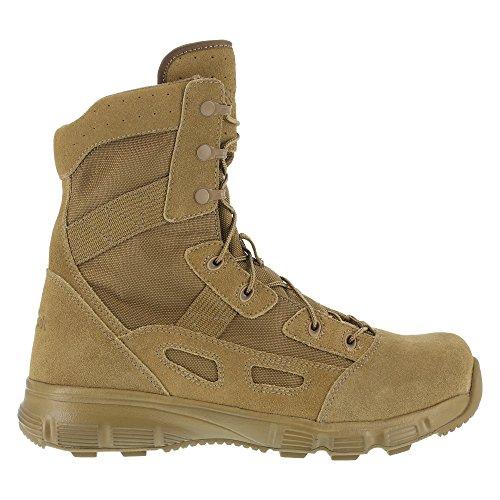"Reebok Duty Women's 8"" Hyper Velocity Rb8281 Soft-Toe Military Coyote - 8 Wide"