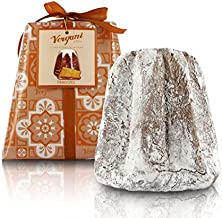 Vergani Classic Pandoro Baked in Milan (Italy), Hand-Wrapped, Traditional Recipe - 1kg / 2lb 3.2oz