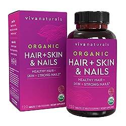 Image of Organic Hair Skin and Nails...: Bestviewsreviews