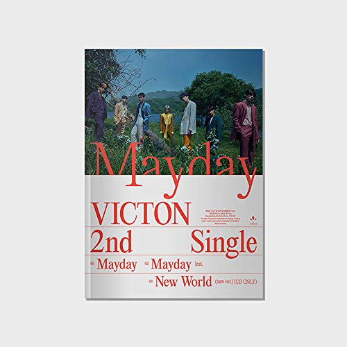 Play M Entertainment VICTON - MayDay (2nd Single Album) Album+Folded Poster+Extra Photocards Set (Venez ver.)