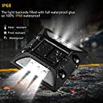 Solar Deck Lights,UNIFUN New Design Driveway Dock LED Lights,Solar Powered Waterproof Road Markers for Step Sidewalk Stair Garden Ground Pathway Yard (6PACK) IP65 Rated