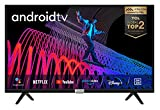 iFFALCON (by TCL) 32F510 Fernseher 32 Zoll (80 cm) Smart TV (HDR, Triple Tuner, Micro Dimming, Android TV, inklusive Sprachfernbedienung, Prime Video, Google Assistant) [Energieklasse A+]
