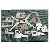 1pcs Tarantula/HE3D Aluminum Plate Upgrade kit for 3D Tarantula 3D Printer tevo Tarantula Aluminum Parts Linear Rail Dual Set