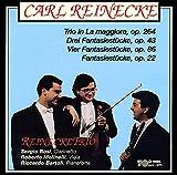 4 Fantasiestücke for Clarinet & Piano, Op. 22: No. 4, Canon. Lento ma non troppo