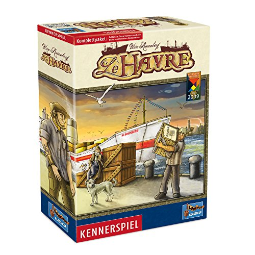 Lookout Games 22160029 - Le Havre, Kennerspiel - Komplettpaket (mit Le Grand Hameau und allen bisherigen Bonuskarten)