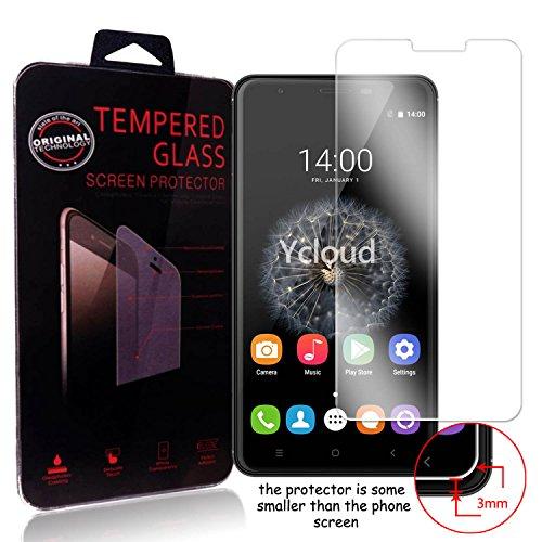Ycloud Panzerglas Folie Schutzfolie Bildschirmschutzfolie für Oukitel U15 Pro / U15s screen protector mit Festigkeitgrad 9H, 0,26mm Ultra-Dünn, Abger&ete Kanten